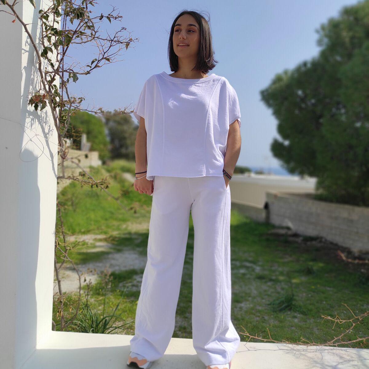 Σετ φόρμας λευκό Ρούχα Ρούχα αξεσουάρ