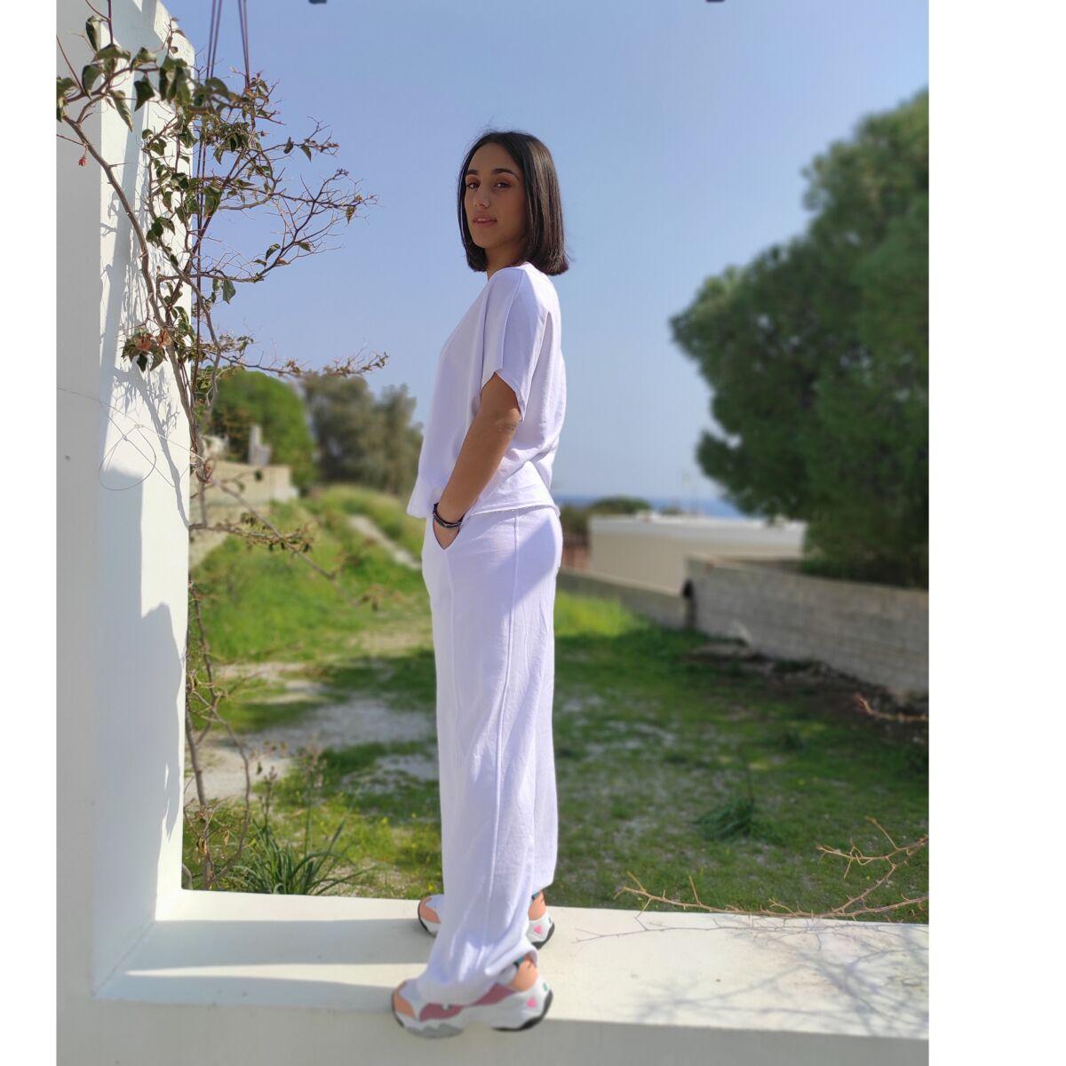 Σετ φόρμας λευκό Ρούχα Ρούχα αξεσουάρ 2