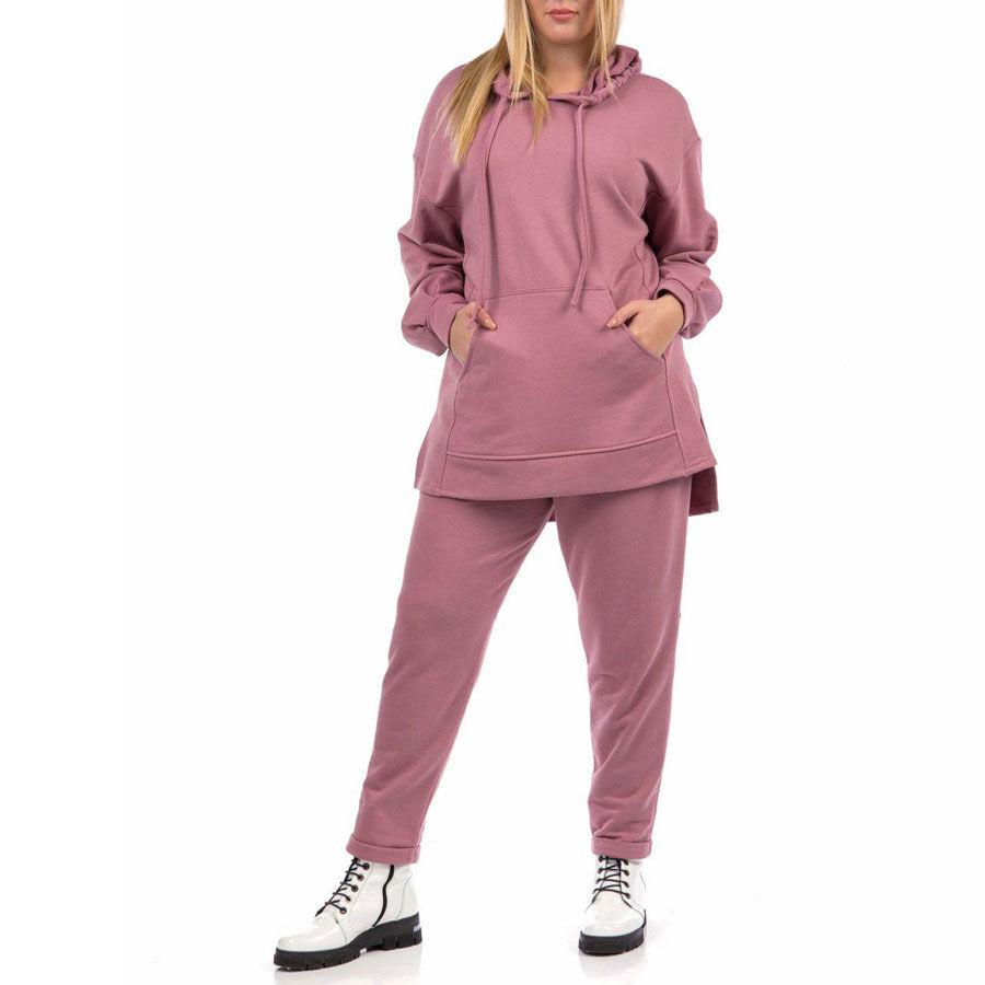 Ασύμμετρη μπλούζα φούτερ Μπλούζες Plus Size Ρούχα αξεσουάρ