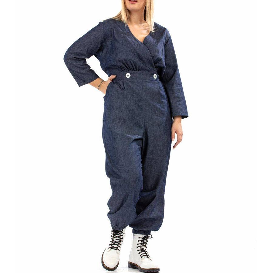 Ολόσωμη τζιν φόρμα Ρούχα Plus Size Ρούχα αξεσουάρ