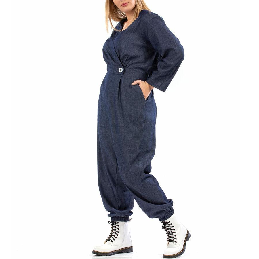 Ολόσωμη τζιν φόρμα Ρούχα Plus Size Ρούχα αξεσουάρ 2