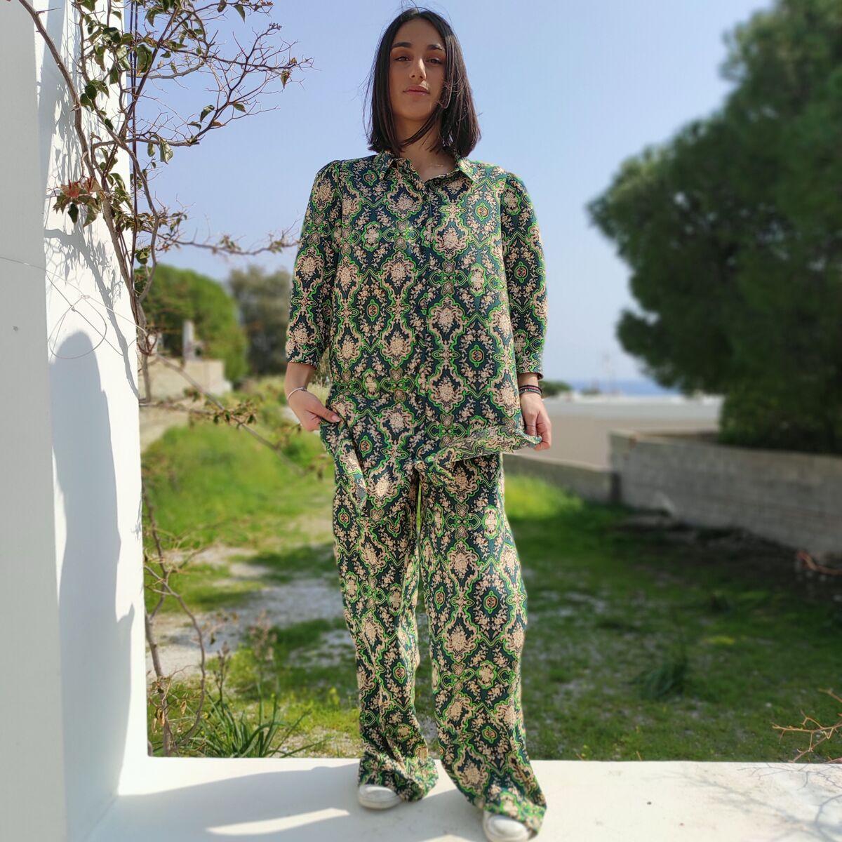 Σετ παντελόνα με πουκάμισα Ρούχα Ρούχα αξεσουάρ 2