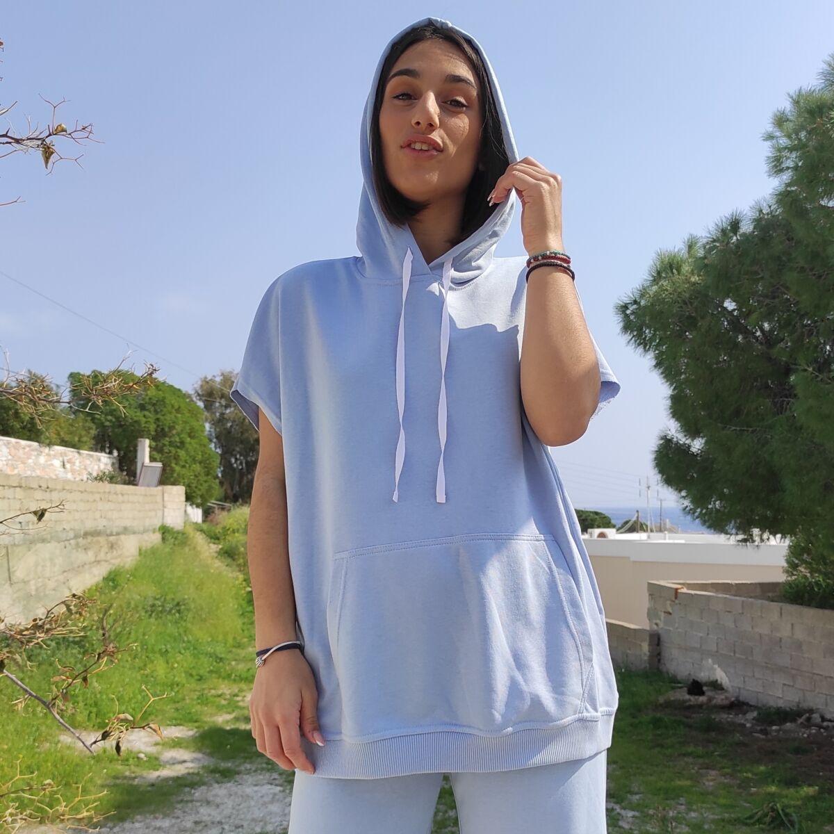 Μπλούζα φούτερ αμάνικι Μπλούζες Ρούχα αξεσουάρ 2