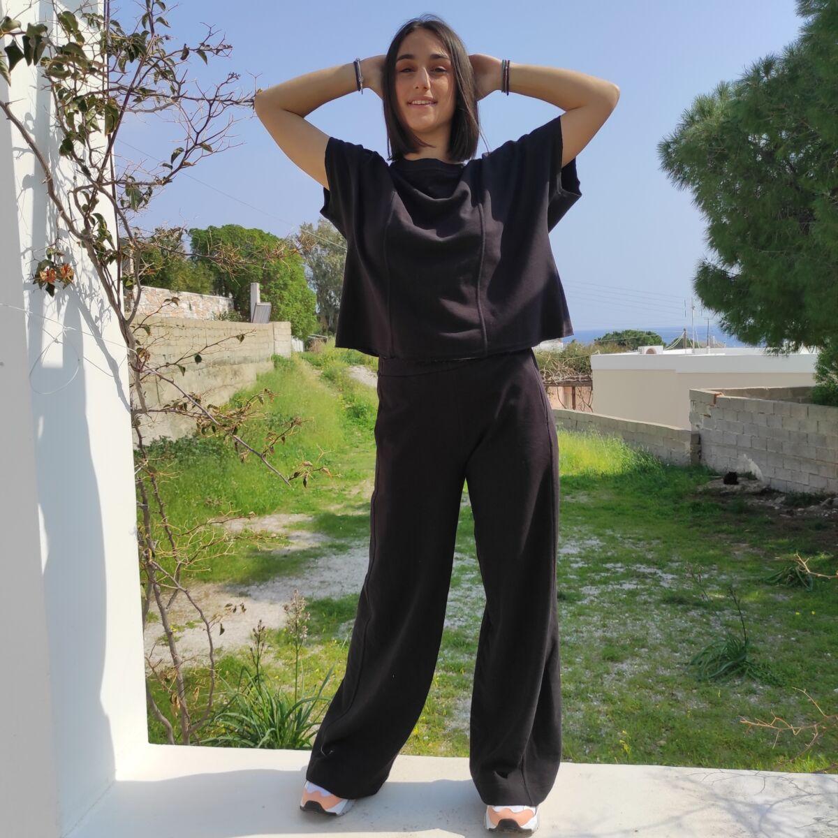 Φόρμα μαύρη Ρούχα Ρούχα αξεσουάρ