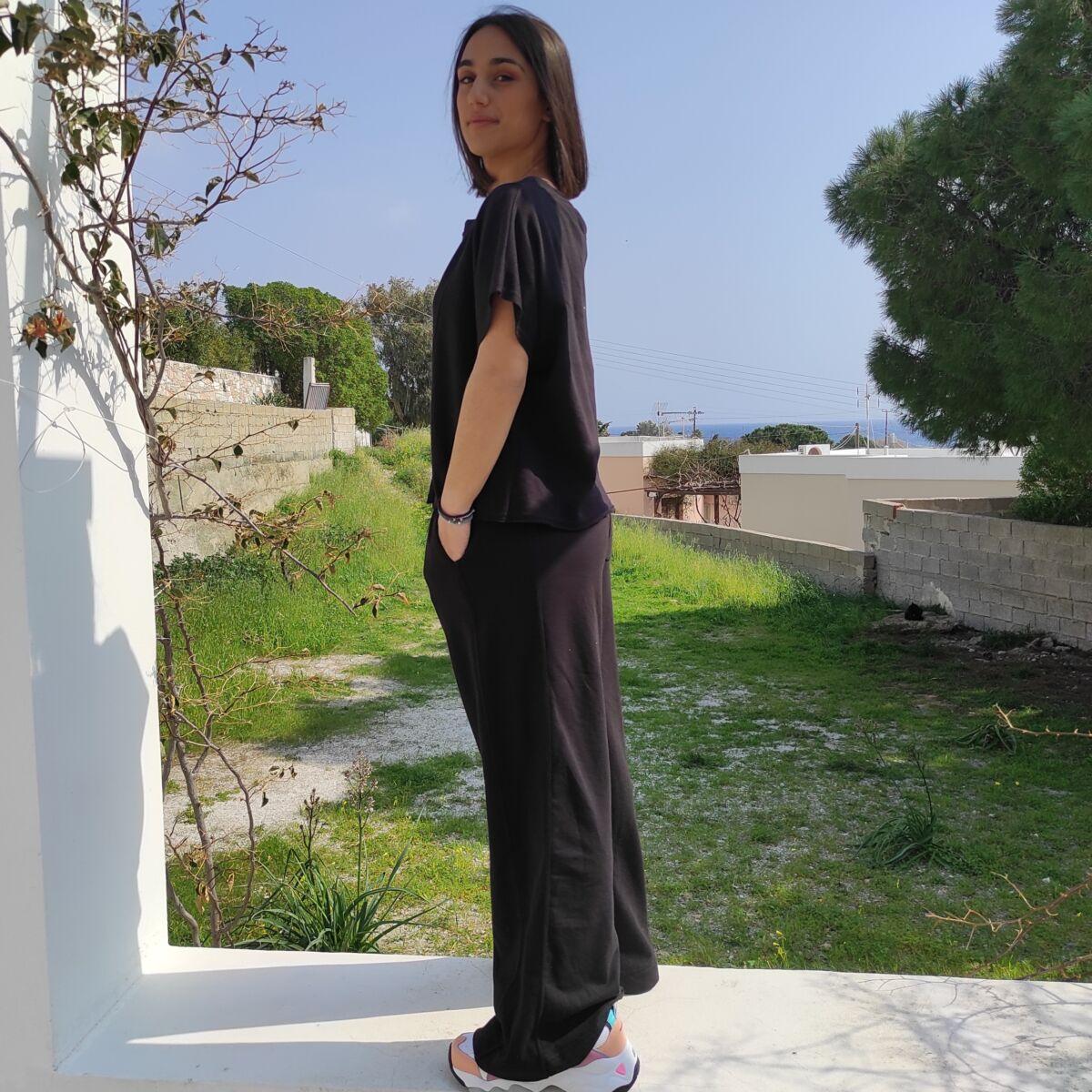 Φόρμα μαύρη Ρούχα Ρούχα αξεσουάρ 2