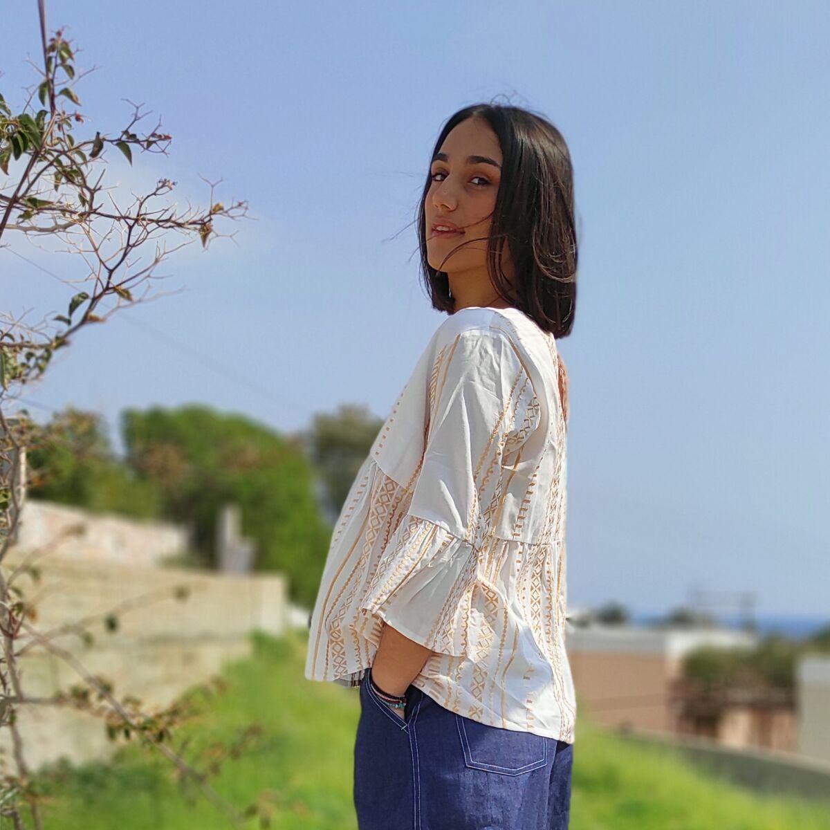 Μπλούζα υφαντή Μπλούζες Ρούχα αξεσουάρ 2