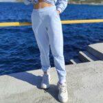 Παντελόνι φούτερ με λάστιχο Παντελόνια Ρούχα αξεσουάρ