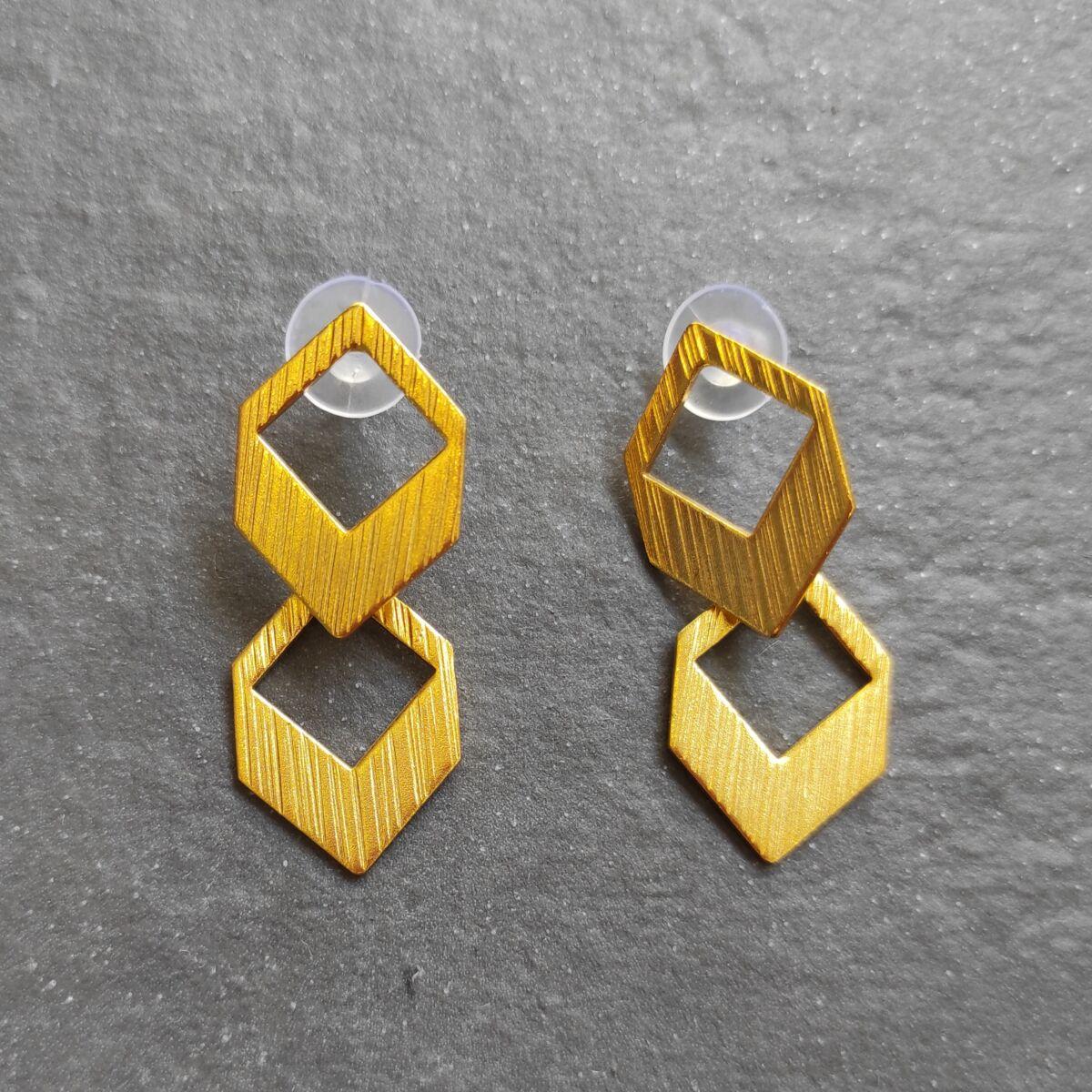 Σκουλαρίκια γεωμετρικά Αξεσουάρ Ρούχα αξεσουάρ
