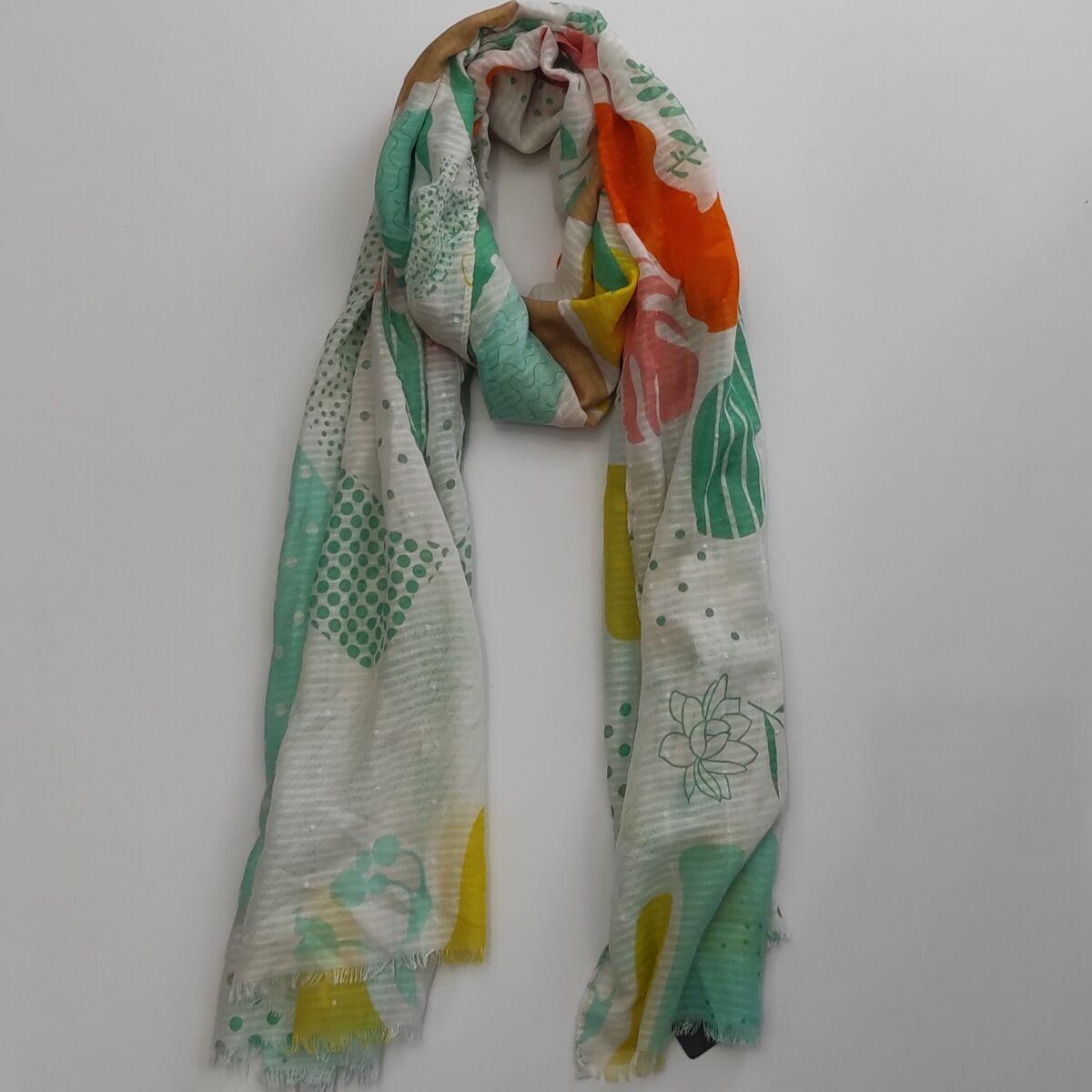Φουλάρι Verde (03-1876) Αξεσουάρ Ρούχα αξεσουάρ